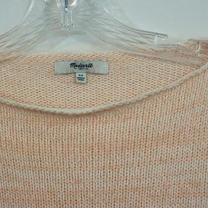 Madewell Sweaters - Madewell Peach Wool Blend Sweater EUC